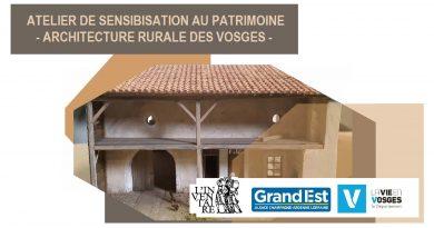 Modules pédagogiques Inventaire du Patrimoine et architecture rurale des Vosges