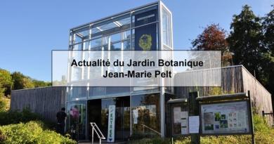 Actualité du Jardin botanique Jean-Marie Pelt