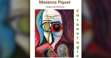 Exposition «Chronologie» du «Faiseur de peinture» Maxence Piquet