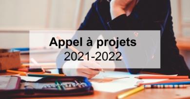 Appel à projets 2021-2022