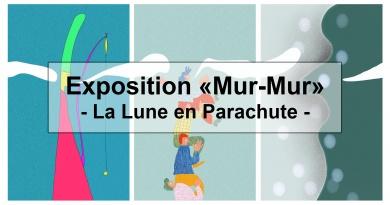 Exposition «Mur-Mur» – La Lune en parachute