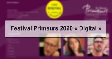 Festival Primeurs 2020 « Digital »