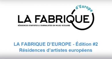 Appel à candidature – Fabrique d'Europe #2
