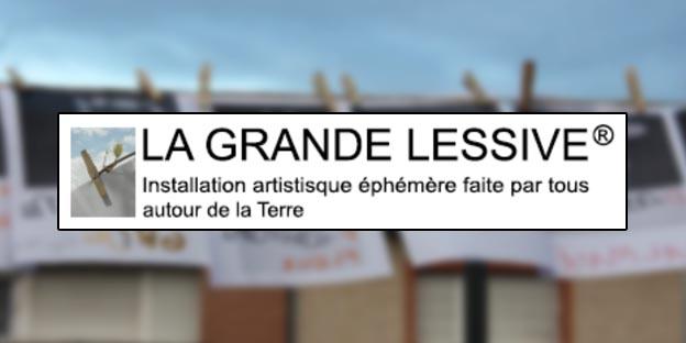 Action collective « Fleurir ensemble » – La Grande Lessive