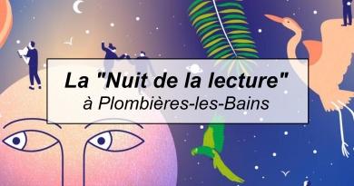 La «Nuit de la lecture» à Plombières-les-Bains