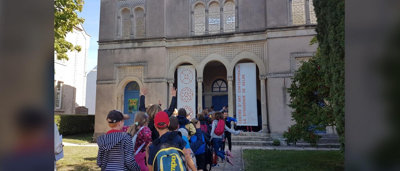 Actualités du centre d'art contemporain – la synagogue de Delme