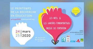 Le «Printemps de la Recherche en Éducation» 2020