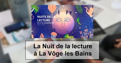 La Nuit de la lecture à La Vôge les Bains