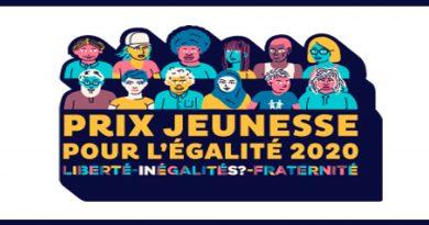 Le Prix «Jeunesse pour l'égalité 2020»
