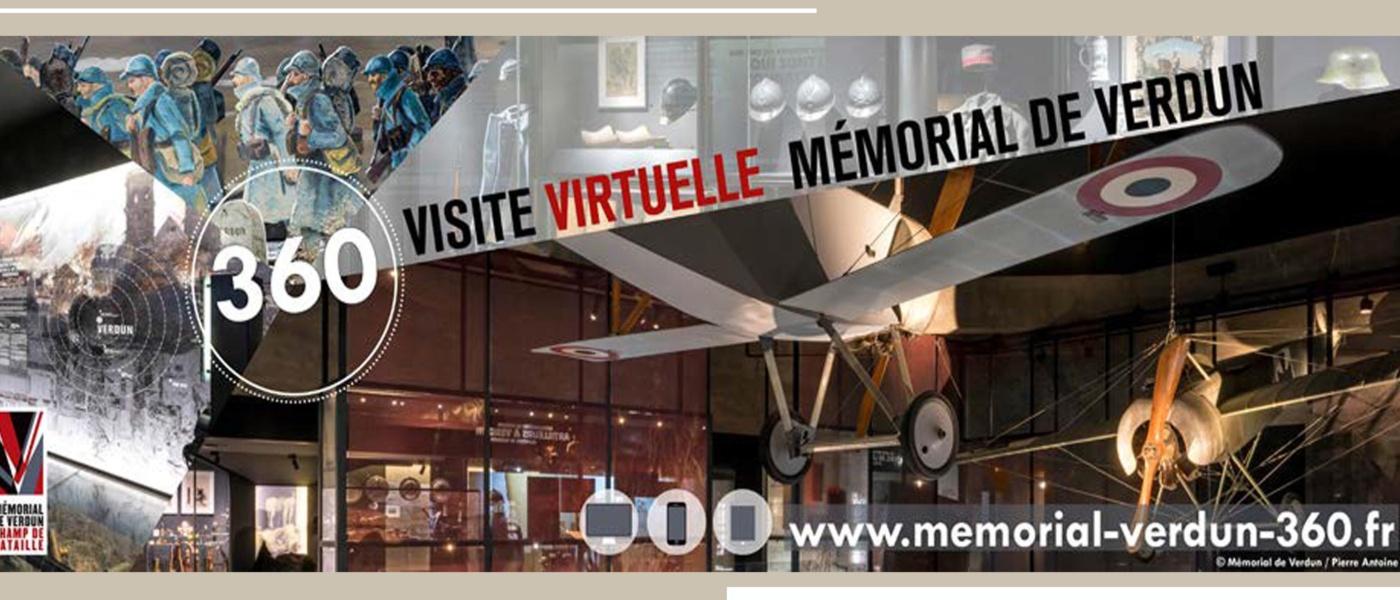 Visite virtuelle du Mémorial de Verdun